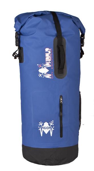 Borsa impermeabile da sella Amphibious Mako 45 Blu