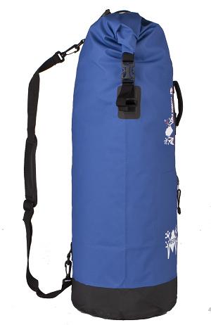 Waterproof bag saddle Amphibious Mako 45 Yellow