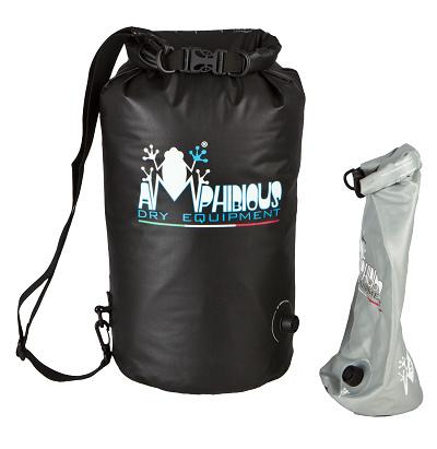 Waterproof bag saddle Tube Light Amphibious Evo 10 Black