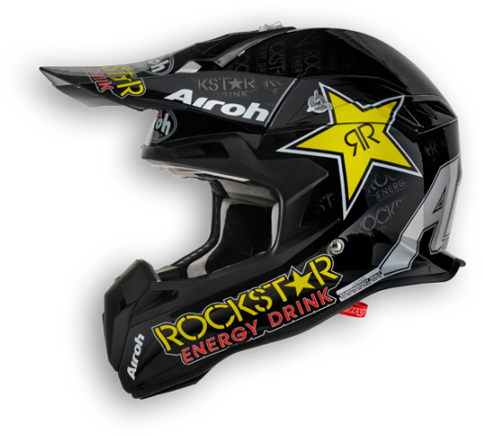 Airoh Terminator Rockstar off-road helmet