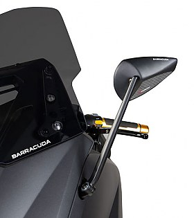 Barracuda Mirrors Yamaha T-Max 12