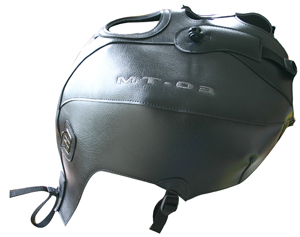 Copriserbatoio Bagster Yamaha MT-03. Nero