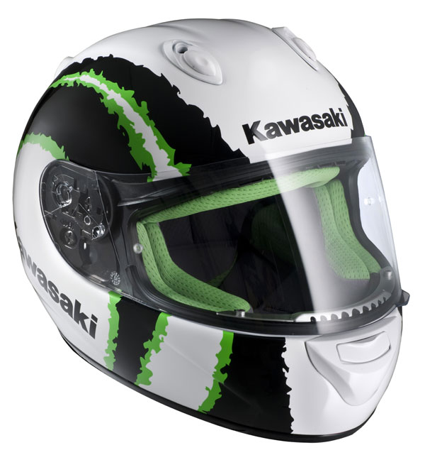 HJC Kawasaki Kninja Urban MC4 full face helmet