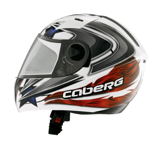 Casco moto bambino integrale Caberg V-KID LEO Star-Flame