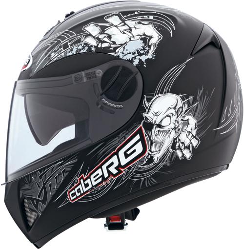 Caberg V2 407 Hellracer full-face helmet matt black-anthracite