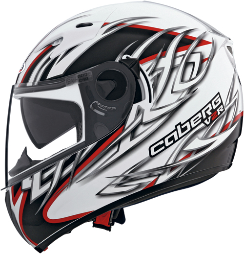 Casco moto Caberg V2R-R Zenith