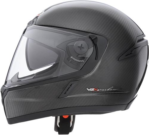 Casco moto Caberg V2X Carbon bright carbon