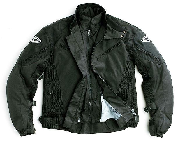 Prexport Vento WP 3 layer waterproof jacket Black