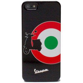 Cover rigide con fantasia Vespa Target ner Iphone5 Cellular Line