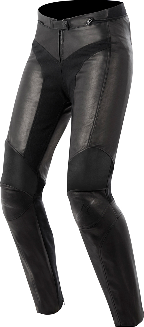 Alpinestar Stella Vika Waterproof leather women pants black