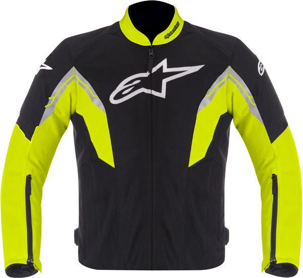 Alpinestars VIPER AIR textile jacket black-yellow-white