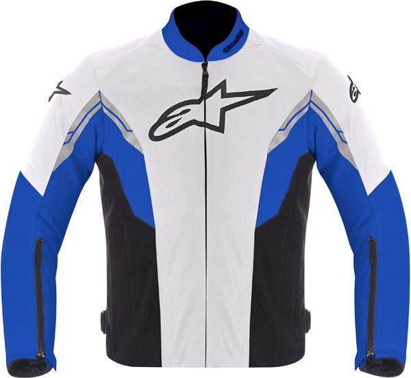 Alpinestars VIPER AIR textile jacket white-blue-black