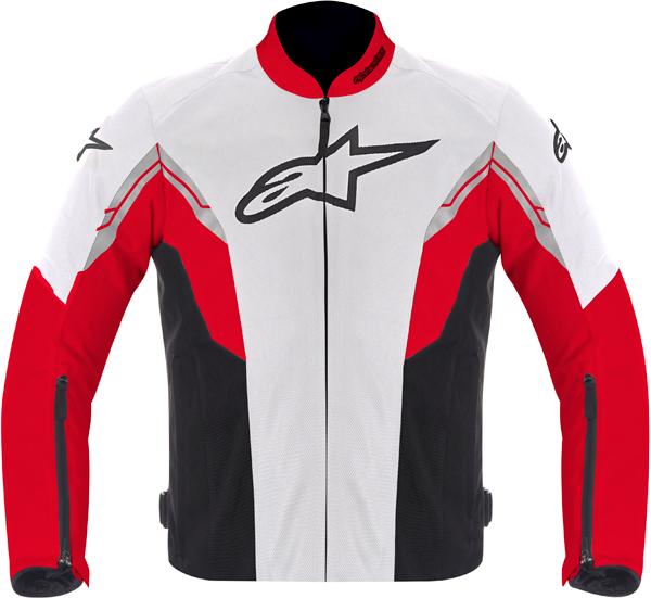 Alpinestars VIPER AIR textile jacket white-red-black