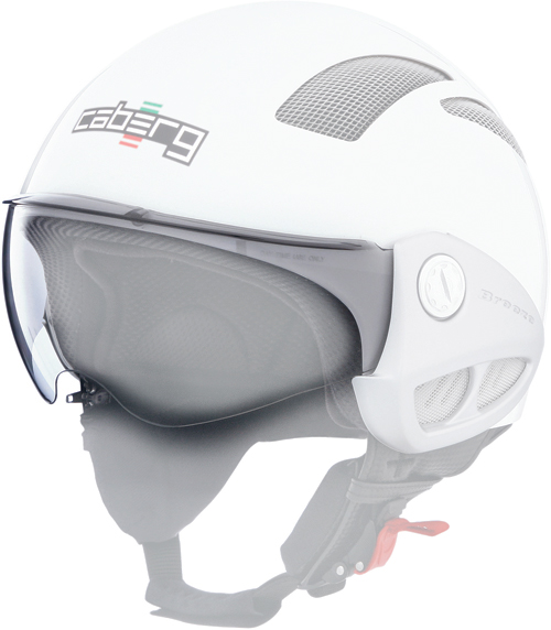 Caberg visor antiscratch light smoke Breeze