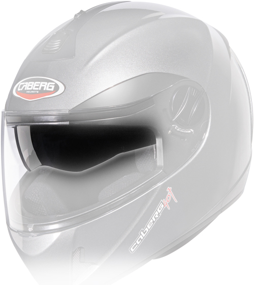 Caberg little visor antiscratch iridescent Silver V2 407