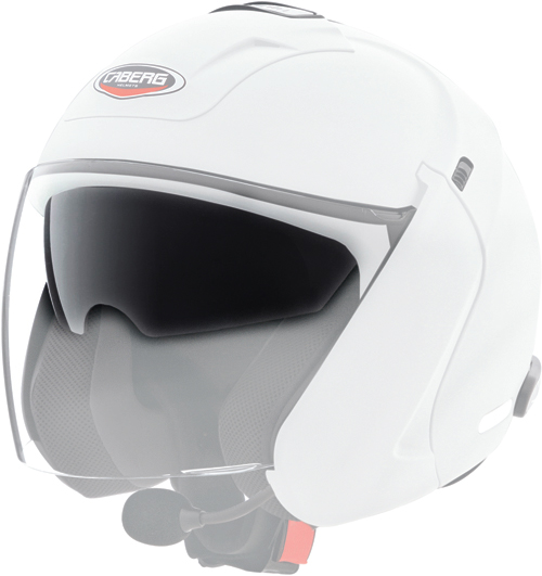 Caberg antiscratch iridescent blue visor for Downtown S