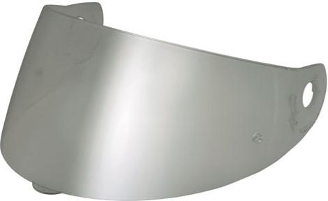 Visiera per Nolan N90 N91 G9.1 argento metalizzato