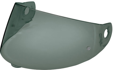 Nolan N90 blue mirror visor