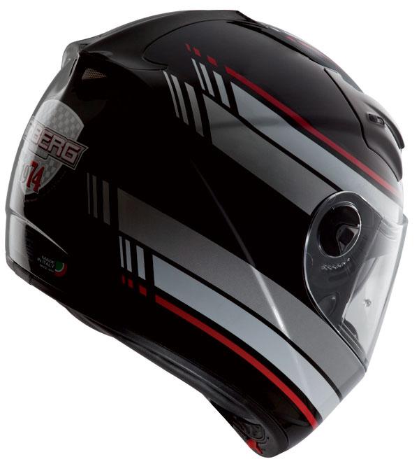 Caberg Vox Daytona full face helmet Black White