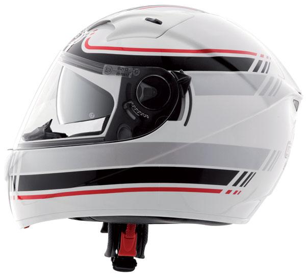 Casco integrale Caberg Vox Daytona Bianco Nero