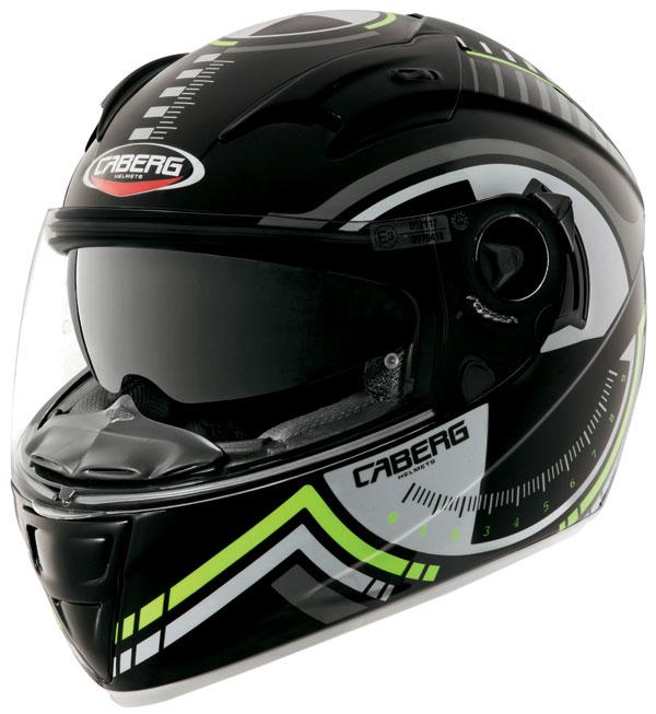Caberg Vox Rival full face helmet Black Silver