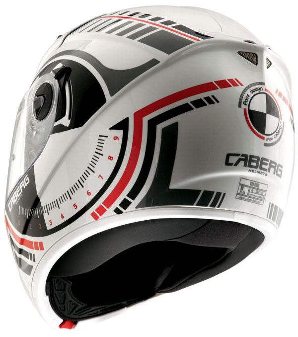Caberg Vox Rival full face helmet White Gunmetal
