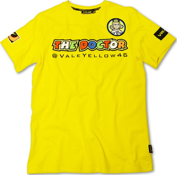 VR46 The Doctor T-shirt yellow