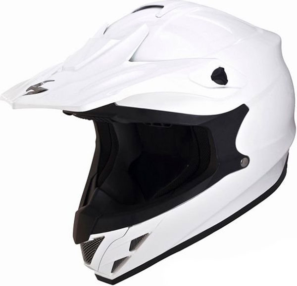 Scorpion VX 15 Air off road helmet White