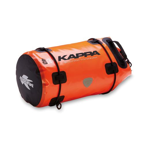 Roller bag saddle Kappa Orange