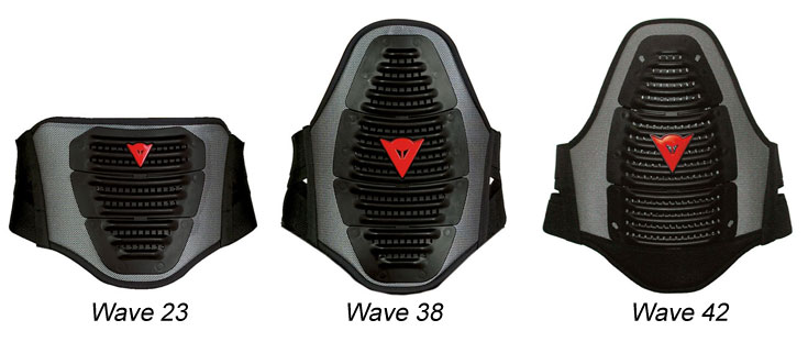 Lumbar band Dainese Wave 23 Black