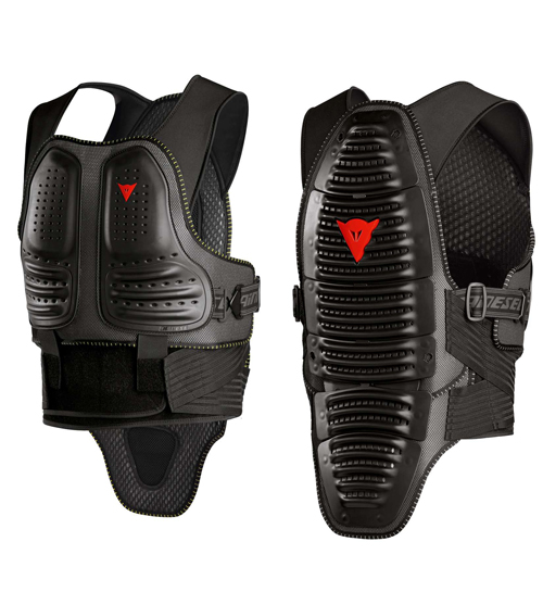 Certified back protector Dainese Wave Pro Black Chest