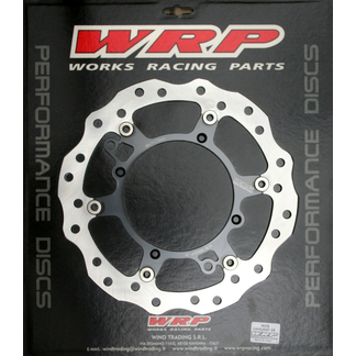 WRP brake disc 260x120 fixed front HUSQVARNA