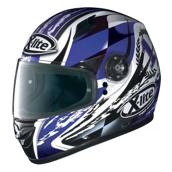 X-Lite X-602 Winner N-Com full-face helmet white - blue 68