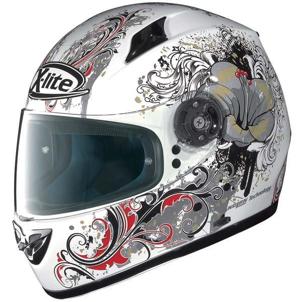 X-Lite X-602 Ethnic N-Com full-face helmet white 73