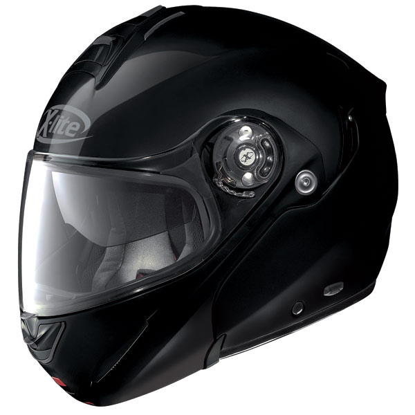 Motorcycle helmet flip-up X-Lite X-1003 N-Com Elegance black