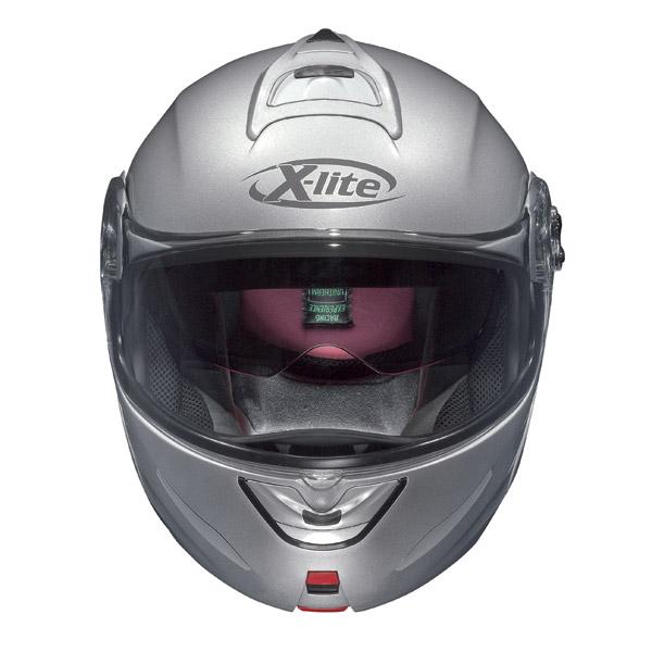 Casco modulare  X-Lite X-1003 N-Com Elegance argento