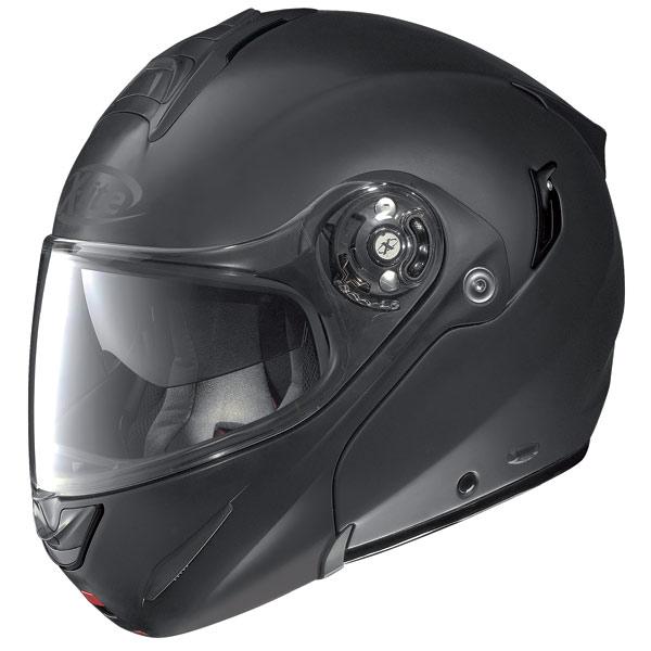Casco modulare  X-Lite X-1003 N-Com Elegance nero opaco