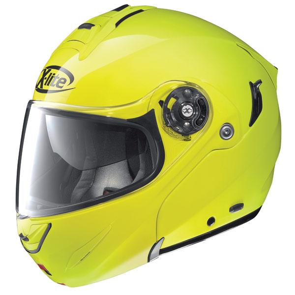 Casco modulare X-Lite X-1003 N-Com Alta Visibilità giallo fluo