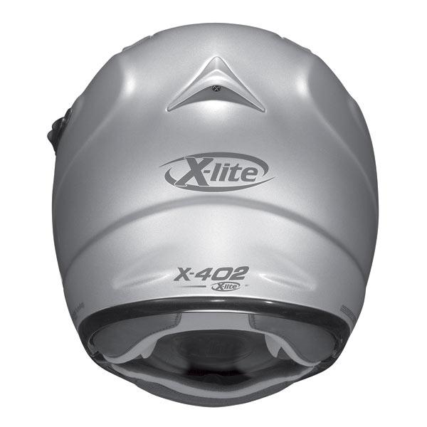 Casco moto X-Lite X402GT Hyper N-COM bianco J/P