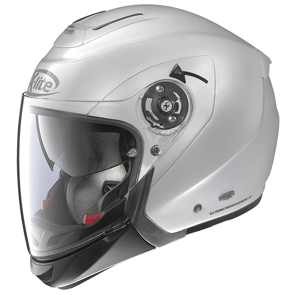 X-Lite X-403 GT Elegance N-Com modular helmet Silver