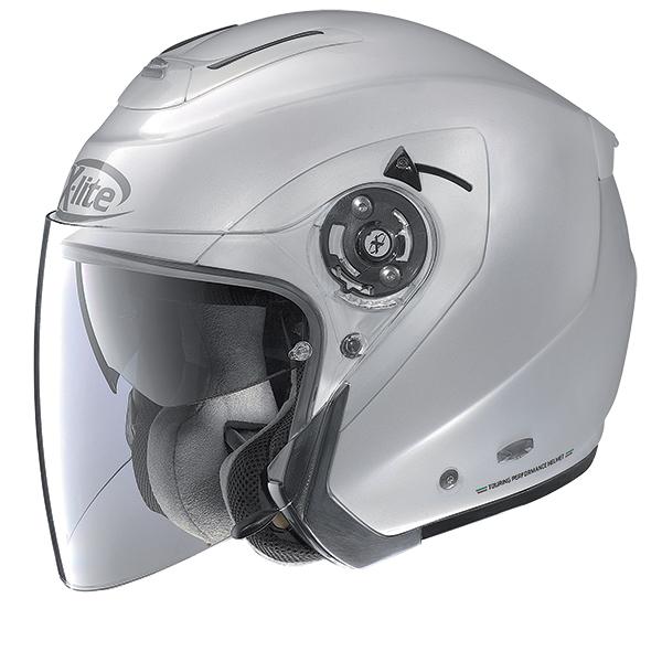 X-Lite X-403 GT Elegance N-Com modular helmet White