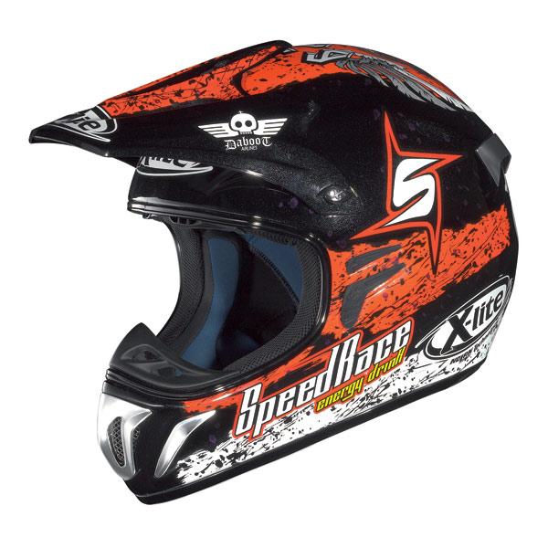 X-Lite X501 Bianconcini metal black enduro helmet