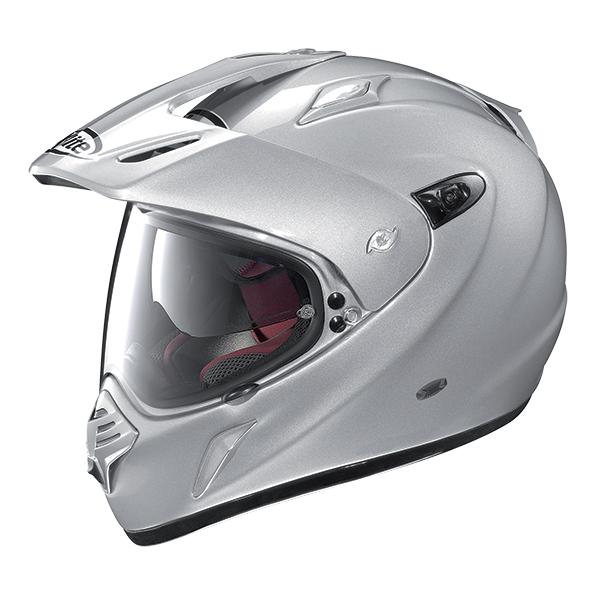 X-Lite X-551 GT Thundex N-Com full face helmet Matt gray Yellow
