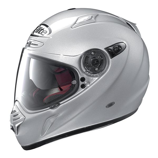 X-Lite X-551 GT Thundex N-Com full face helmet Matt gray Orange