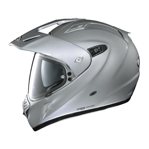 Casco moto X-Lite X551 N-COM Start Silver
