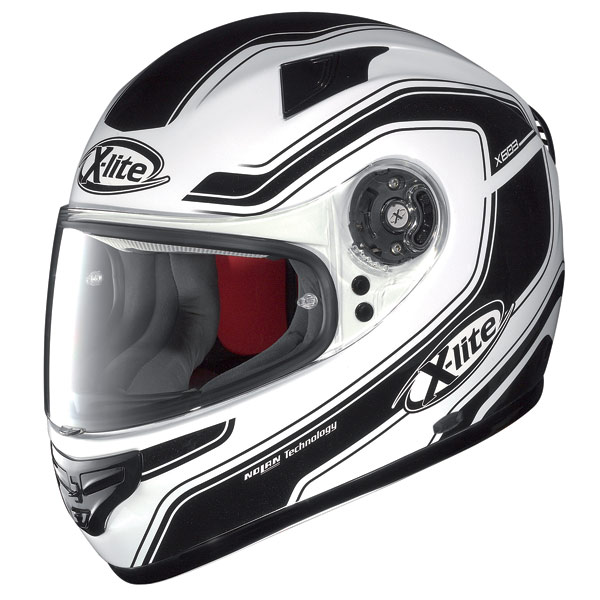 X-lite X-603 Street N-Com metal white  fullface helmet