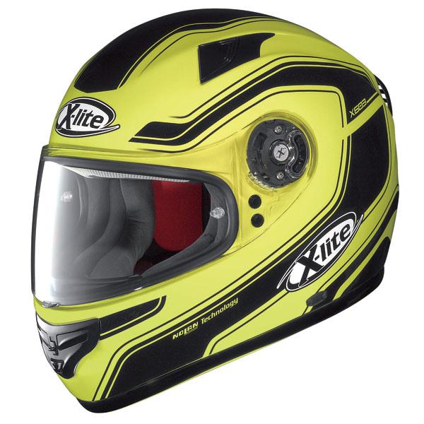 X-lite X-603 Street N-Com fluo yellow  fullface helmet