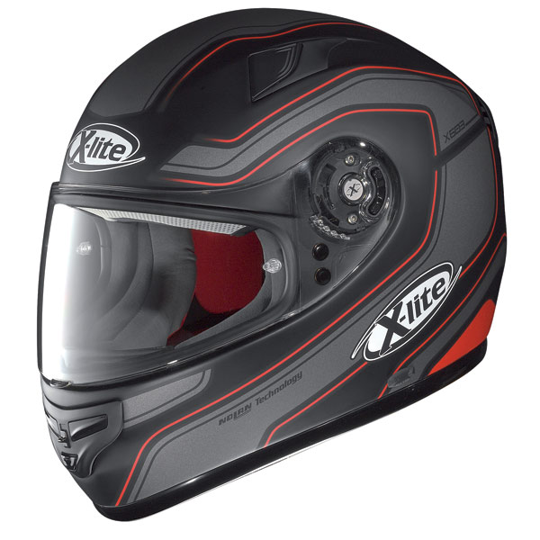 Casco moto X-Lite X-603 Street N-Com flat black