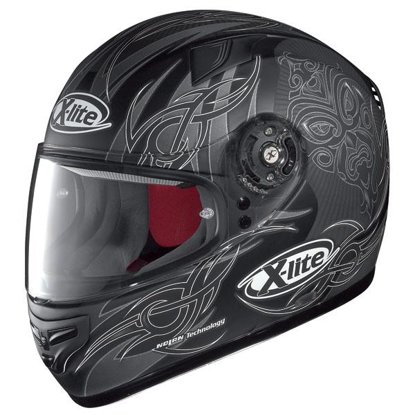 Casco moto X-Lite X-603 Mask N-Com flat black