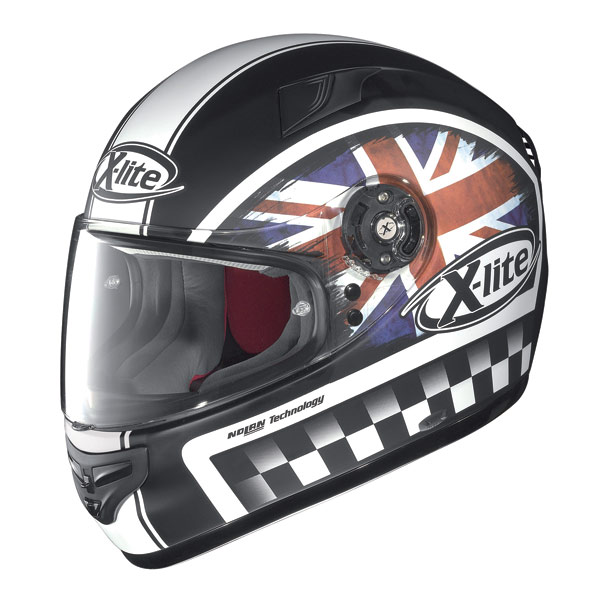 Casco moto X-Lite X-603 Ride N-Com flat black UK